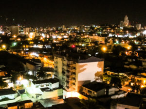 Night scene in Tegucigalpa