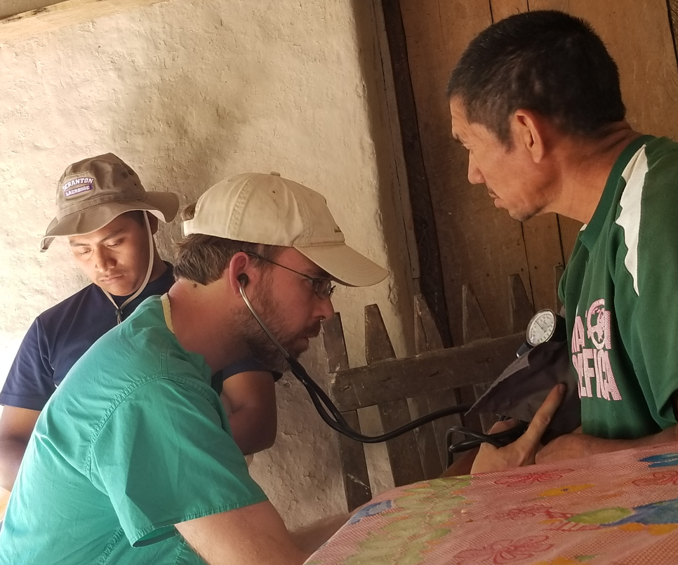 Volunteer in Honduras medical service trip