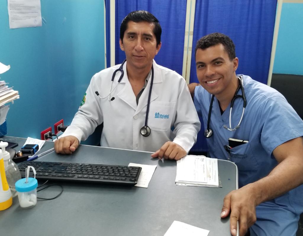 Me and Dr Guzman Seguridad Social Peru