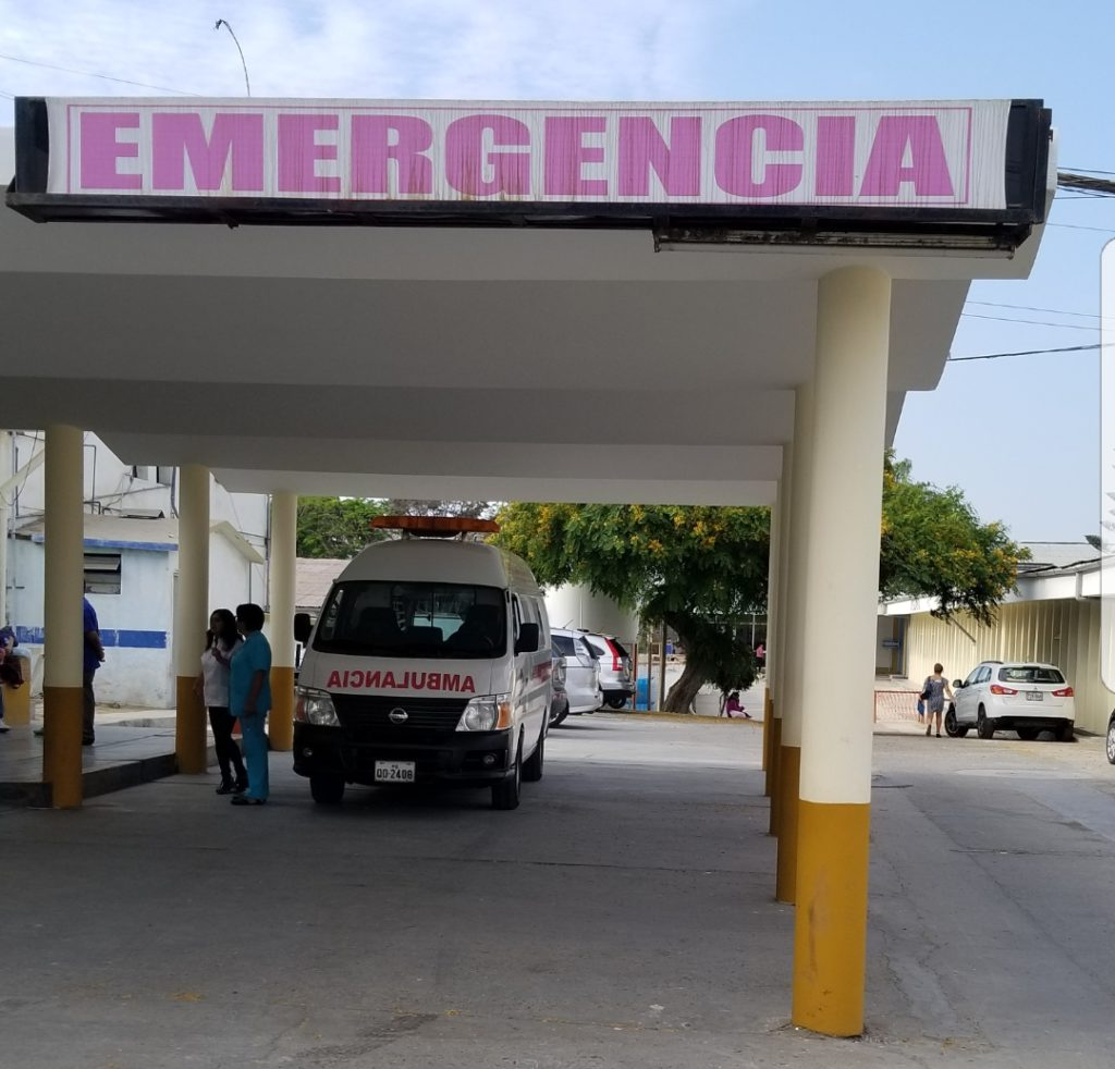 Scope of practice in Peru emergency room