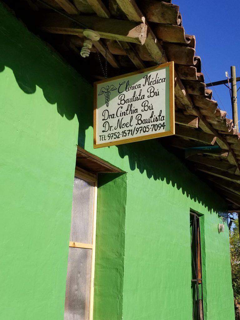 Clinic in Honduras credentials